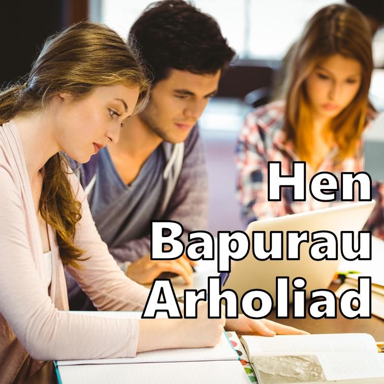 Course Image Papurau Arholiad Lefel A (Hen Gwrs)