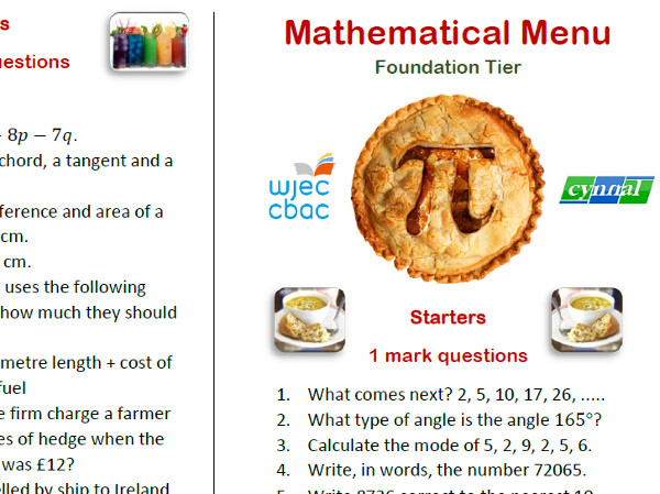 Blog: GCSE Numeracy Resources